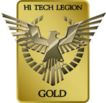 Hi Tech Legion Gold Award